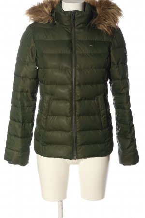 Tommy Hilfiger Down Jacket khaki quilting pattern casual look