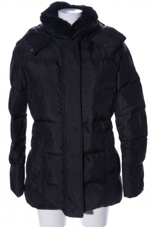 Tommy Hilfiger Daunenjacke schwarz Steppmuster Business-Look