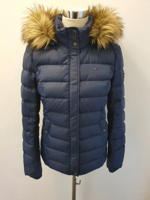Tommy Hilfiger Down Jacket blue mixture fibre