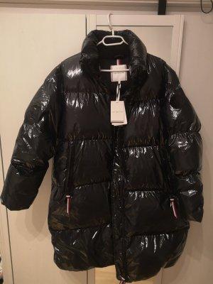 Tommy Hilfiger Abrigo de plumón azul oscuro