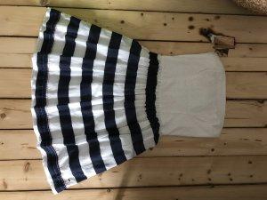 Tommy Hilfiger Denim Vestido bustier blanco-azul oscuro