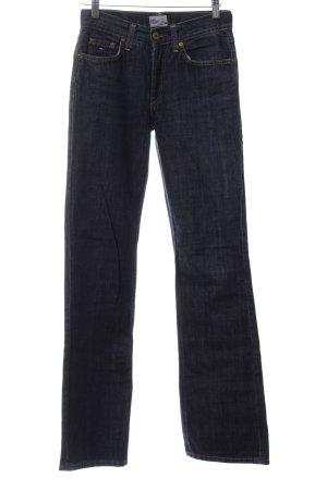 Tommy Hilfiger Denim Boot Cut Jeans blau Casual-Look