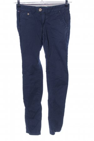 Tommy Hilfiger Denim Bundfaltenhose blau Casual-Look