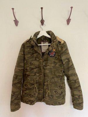 Tommy Hilfiger Denim Camouflage Jacke
