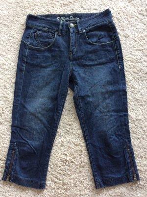 Tommy Hilfiger Denim 3/4 Length Jeans dark blue-steel blue