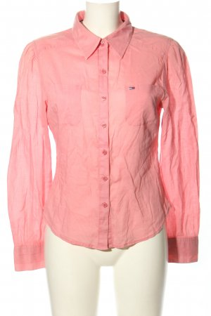 Tommy Hilfiger Denim Hemd-Bluse pink Casual-Look