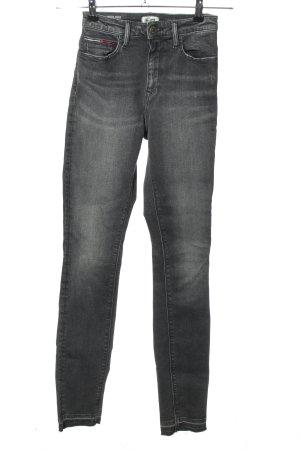 Tommy Hilfiger Denim High Waist Jeans hellgrau Casual-Look
