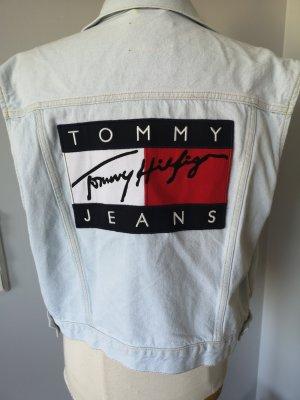 Tommy Jeans Chaleco de tela vaquera multicolor