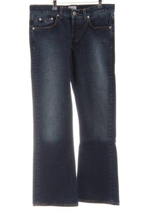 Tommy Hilfiger Denim Jeansschlaghose blau Casual-Look