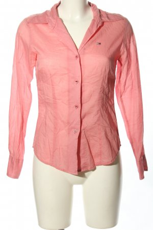 Tommy Hilfiger Denim Langarm-Bluse pink Casual-Look
