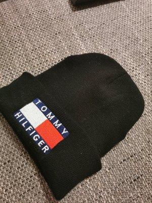 Tommy Hilfiger denim Mütze schwarz