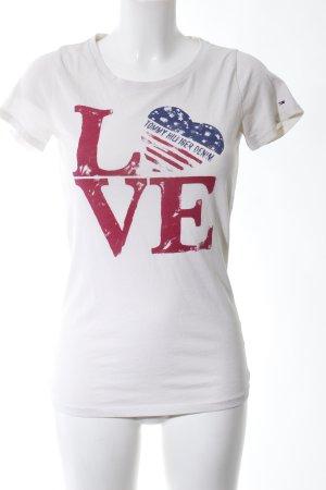 Tommy Hilfiger Denim Print-Shirt Motivdruck Casual-Look