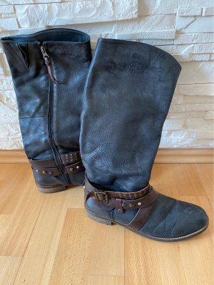 Hilfiger Denim Boots western bleu foncé