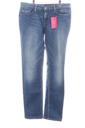 Tommy Hilfiger Denim Straight-Leg Jeans blau Casual-Look
