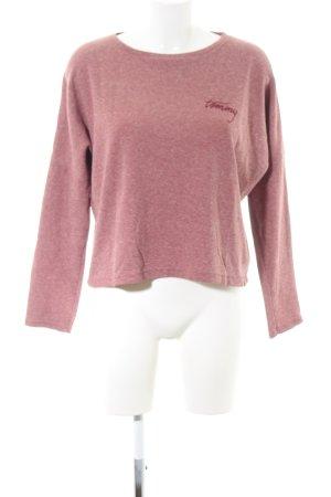 Tommy Hilfiger Denim Suéter rosa moteado look casual