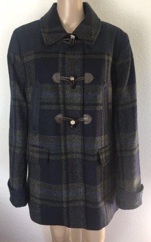 Tommy Hilfiger, Duffle Coat, Blau gemustert, XL, Wolle, neu, € 400,-