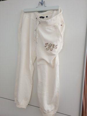 Tommy Hilfiger Pantalon capri blanc cassé