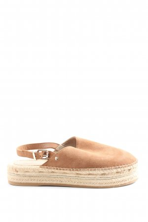 Tommy Hilfiger Espadrilles-Sandalen nude Casual-Look