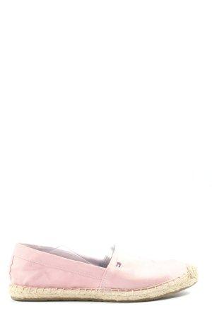 Tommy Hilfiger Espadrilles-Sandalen pink Casual-Look