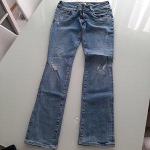 Tommy Hilfiger Jeans taille basse bleu pâle