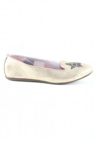 Tommy Hilfiger Foldable Ballet Flats gold-colored casual look