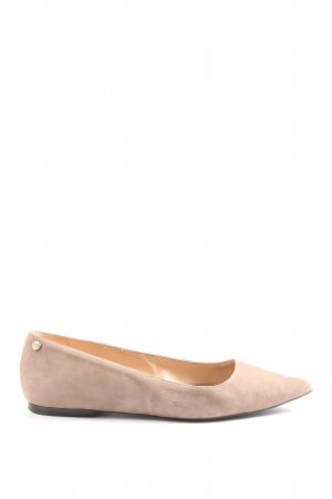 Tommy Hilfiger faltbare Ballerinas creme Casual-Look