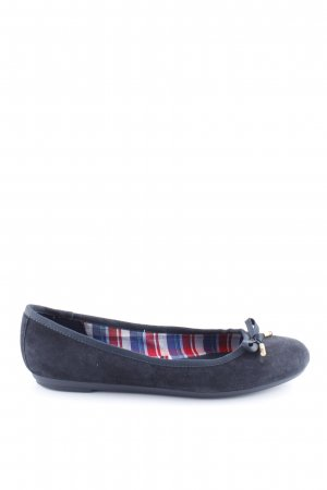 Tommy Hilfiger Foldable Ballet Flats blue business style
