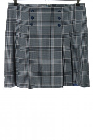 Tommy Hilfiger Plaid Skirt blue-natural white check pattern casual look