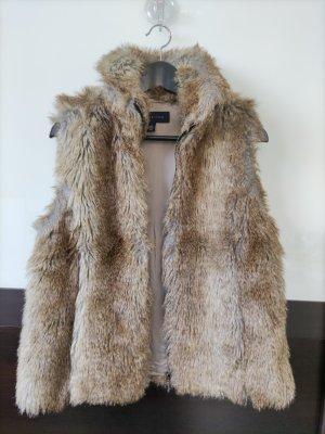 tommy hilfiger faux fur Weste