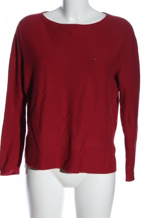 Tommy Hilfiger Feinstrickpullover rot Casual-Look