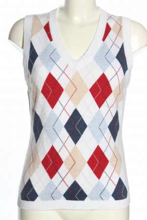 Tommy Hilfiger Feinstrickpullunder grafisches Muster Casual-Look