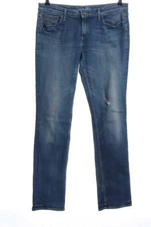 Tommy Hilfiger Pantalón de cinco bolsillos azul look casual