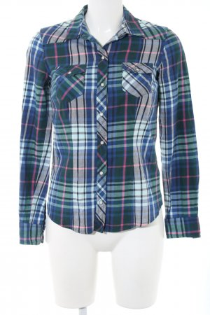 Tommy Hilfiger Flanellhemd Allover-Druck Casual-Look