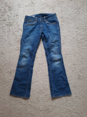 Tommy Hilfiger Denim Denim Flares steel blue cotton