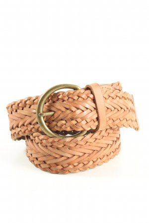 Tommy Hilfiger Braided Belt brown business style