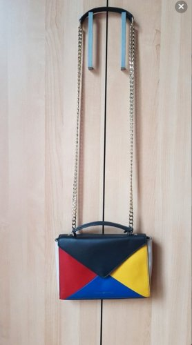 Tommy Hilfiger - Geo Block Leather Clutch