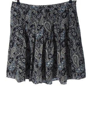 Tommy Hilfiger Rozkloszowana spódnica Abstrakcyjny wzór W stylu casual