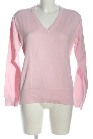 Tommy Hilfiger Golf V-Ausschnitt-Pullover pink Casual-Look