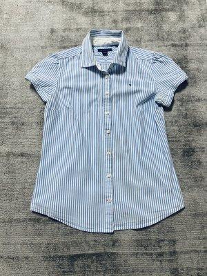 Tommy Hilfiger Short Sleeved Blouse white-azure