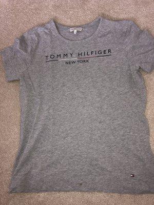 Tommy Hilfiger graues Tshirt Größe s