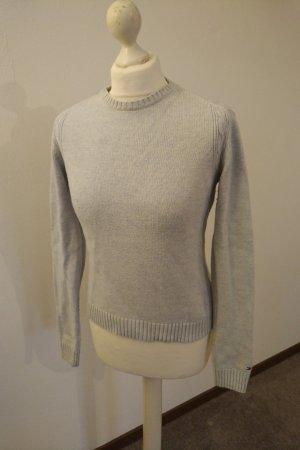 Tommy Hilfiger Crewneck Sweater pale blue-azure cotton