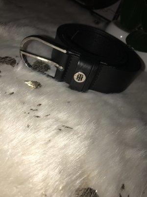 Tommy Hilfiger Cintura di pelle nero