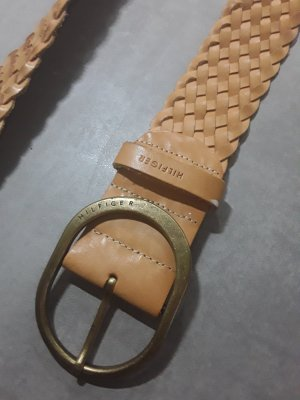 Tommy Hilfiger Braided Belt sand brown