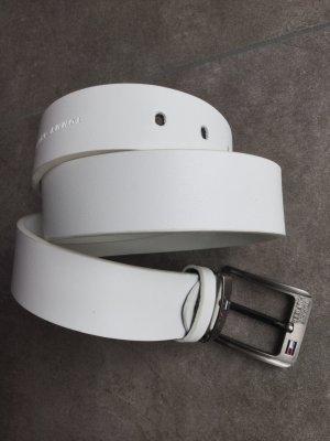 TOMMY HILFIGER Gürtel weiß 73 - 85 cm, 4 cm breit  neuwertig