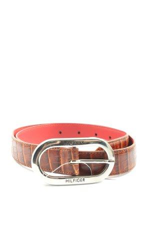 Tommy Hilfiger Belt Buckle brown-pink casual look