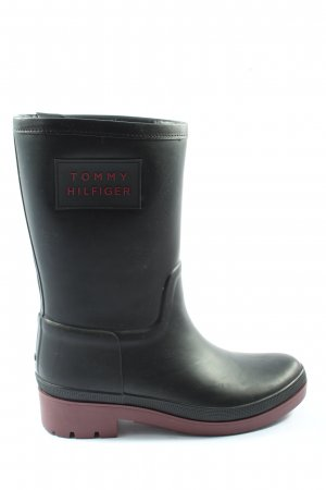 Tommy Hilfiger Wellies black-red themed print casual look