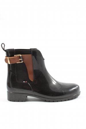 Tommy Hilfiger Wellies black-brown casual look