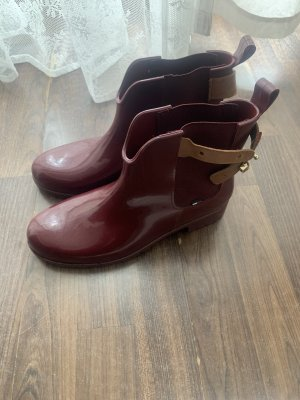 Tommy Hilfiger Wellies bordeaux