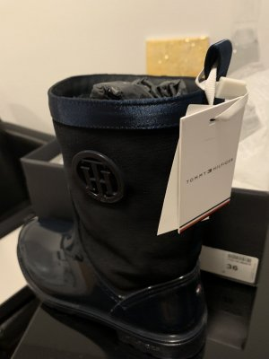 Tommy Hilfiger Wellies dark blue