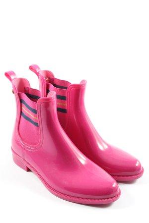 Tommy Hilfiger Gummistiefel pink Casual-Look